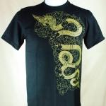 เสื้อลายไทย Linethai T-shirt จำหน่ายเสื้อลายไทย ลายพญานาค (Line Na-ka)