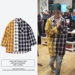 เสื้อเชิ้ต THREEFOLD Check SHIRT Sty.mino -ระบุไซต์-