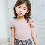 เสื้อ สีชมพู เเพ็ค 5 ชุด ไซส์ 100-110-120-130-140