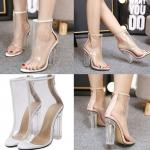 รองเท้าส้นสูง ไซต์ 35-40 สีขาว/ครีม