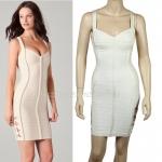 HV078 / Preorder Herve Legr Dress Style พรีออเดอร์เดรสไตล์ Hervr Leger เดรสผ้ายืด ใส่สวยเน้นรูปร่าง