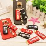 พวงกุญแจติดโทรศัพท์ BIGBANG -ระบุสมาชิก/สี-