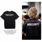 เสื้อยืด VETEMENTS INSECURITY PRINT LOGO 17ss -ระบุไซต์-