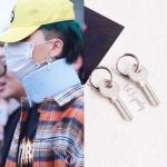 ต่างหูกุญแจแบบ mino (ข้างละ)
