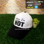 004 - สกรีนหมวก ผ้าพีท