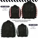 Jacket OFF-WHITE BLACK Caution pants 17ss -ระบุไซต์/สี-