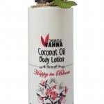 """โลชั่นกลิ่นน้ำหอม--กลิ่น happy in bloom ความสุขในมวลดอกไม้ จาก """"น้ำมันมะพร้าว"""" coconut oil body lotion & Fragrances - Pink"""