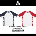เสื้อยืด PALACE CHICPAL UNISEX striped sleeve -ระบุสี/ไซต์-
