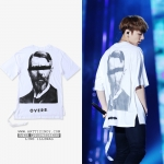 เสื้อยืด INFLUENCE OVER. Sty.Jungkook -ระบุไซต์-