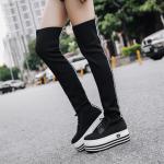 รองเท้าบูทผ้าแนววัยรุ่น ไซต์ 35-39