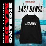 Hoodie BigBang MADE LAST DANCE -ระบุสี/ไซต์-
