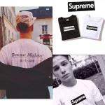 เสื้อยืด Supreme Bonjour Maddame-ระบุสี/ไซต์-