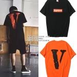 เสื้อยืด Supreme x VLONE 16ss -ระบุสี/ไซต์-