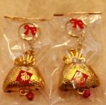 ของชำร่วยพวงกุญแจถุงทองแบบจีน