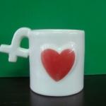 ของชำร่วยแก้วสัญลักษณ์หัวใจ(ใหญ่)