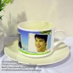 001-สกรีนชุดแก้วกาแฟ