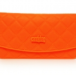 กระเป๋ายางแฟชั่นสีส้มสดใส-พร้อมส่ง