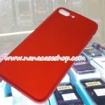 ► ►เคส IPhone 7Plus / 7S Plus ยางนิ่มสีแดง