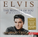 CD,Elvis Presley - The Wonder of You & If I Can Dream(2016)