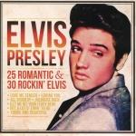 CD,Elvis Presley - 25 Romantic & 30 Rockin