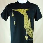 เสื้อลายไทย Linethai T-shirt จำหน่ายเสื้อลายไทย ลายเรือสุพรรณหงส์