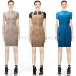 HV105 / Preorder Herve Legr Dress Style พรีออเดอร์เดรสไตล์ Hervr Leger เดรสผ้ายืด ใส่สวยเน้นรูปร่าง