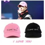 หมวก I LOVE YOU แบบ G-Dragon -ระบุสี-
