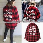 เสื้อเชิ้ต Anti Social Social Club RED 16FW -ระบุไซต์-