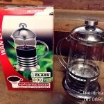แก้วชงกาแฟ หรือ แก้วชงชา French Press 800ml.