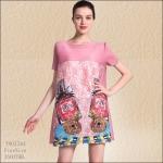 5902240 / Free size / 2016 Dress Fashion พรีออเดอร์ งานสวยมีสไตล์ คุณภาพดีสมราคา