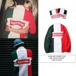 (จำนวนจำกัด) เสื้อแขนยาว SUPREME 16AW POLO Split Rugby BOX logo -ระบุไซต์/สี-