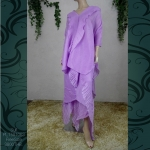 PLT581063 / freesize / 3 PSC. SUIT PLEAT FABULOUS FASHION ( ISSEY MIYAKE STYLE )