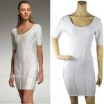 HV102 / Preorder Herve Leger Dress Style พรีออเดอร์เดรสไตล์ Hervr Leger เดรสผ้ายืด ใส่สวยเน้นรูปร่าง