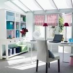 การเลือกสีสำหรับตกแต่งออฟฟิศขนาดเล็กในบ้าน