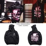 Hoodie ANTI SOCIAL SOCIAL CLUB x mastermind JAPAN 17ss -ระบุไซต์-