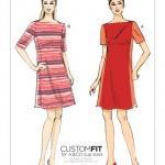 แพทเทิร์นตัดเดรสสตรี มีแขน Vogue 9183 ไซส์ปกติ Size: 6-8-10-12-14 (อก 30.5-36 นิ้ว)