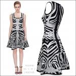 HV0940 / Preorder Herve Leger Dress Style พรีออเดอร์เดรสไตล์ Hervr Leger เดรสผ้ายืด ใส่สวยเน้นรูปร่าง แบบเก๋ทันสมัย สไตล์ดาราและเซเลบกำลัง HOT HIT