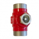 Sight Glasses in cold resistant steel for industrial refrigeration, DN 20 - DN 40, type MLI