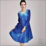 5902257 / Free size / 2016 Dress Fashion พรีออเดอร์ งานสวยมีสไตล์ คุณภาพดีสมราคา