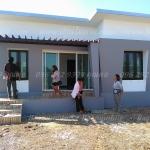 บ้านโมเดิร์นขนาด 8*7.5 ระเบียง 1.5*5 เมตร ราคา 835,000 บาท