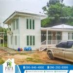 บ้านเเฝด3 ห้องนอน 2 ห้องน้ำ 1ห้องโถง 1ห้องครัว ราคา 860,000 บาท