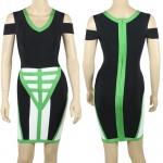 HV116 / Preorder Herve Leger Dress Style พรีออเดอร์เดรสไตล์ Hervr Leger