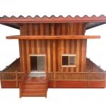 รับทำบ้านน็อคดาวน์ บานประตูไม้เนื้อแข็งและงานไม้ทุกประเภท