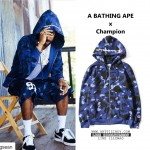 Jacket Hoodie A BATHING APE X Champion -ระบุไซต์/สี-