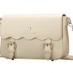 Share Young กระเป๋าสะพายข้างสีขาว แบบเรียบหวาน (พรีออเดอร์)