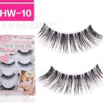 HW-10 ขนตาเอ็นใส (ขายปลีก) เเพ็คละ 5 คู่