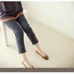 กางเกงคนท้องใส่ทำงาน L0145 สีดำ