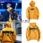 Hoodie Purpose Tour Merch SEGURITY -ระบุไซต์-