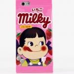 ***พร้อมส่ง*** เคสซิลิโคน Fujiya Peko ซองขนมสีชมพู Milky iPhone6/6S Plus Case