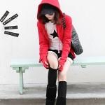 เสื้อคลุมกันหนาว สุดน่ารัก ใหม่ล่าสุดจากเกาหลี ( พรีออเดอร์ )